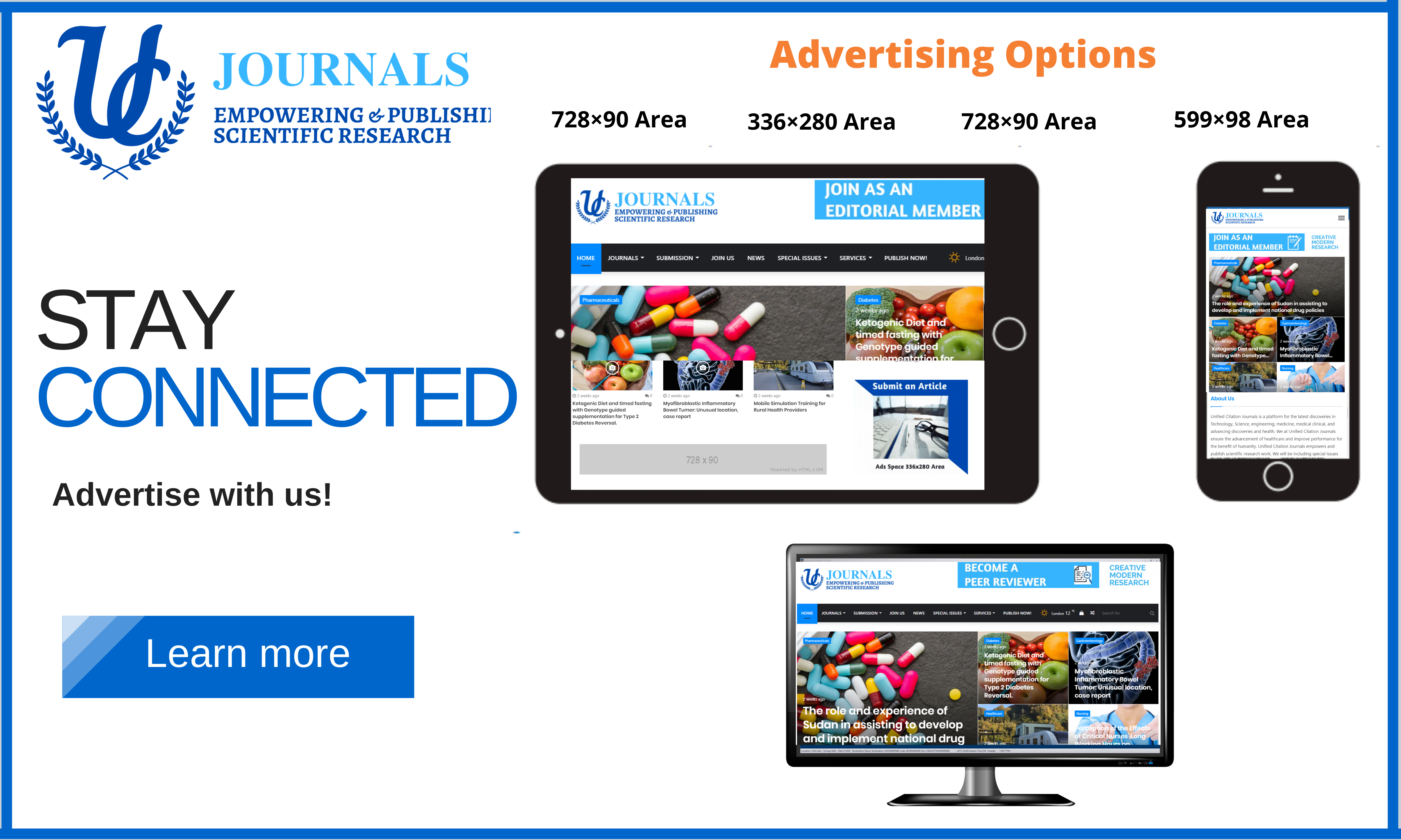 United Citation Journals- Advertise with us
